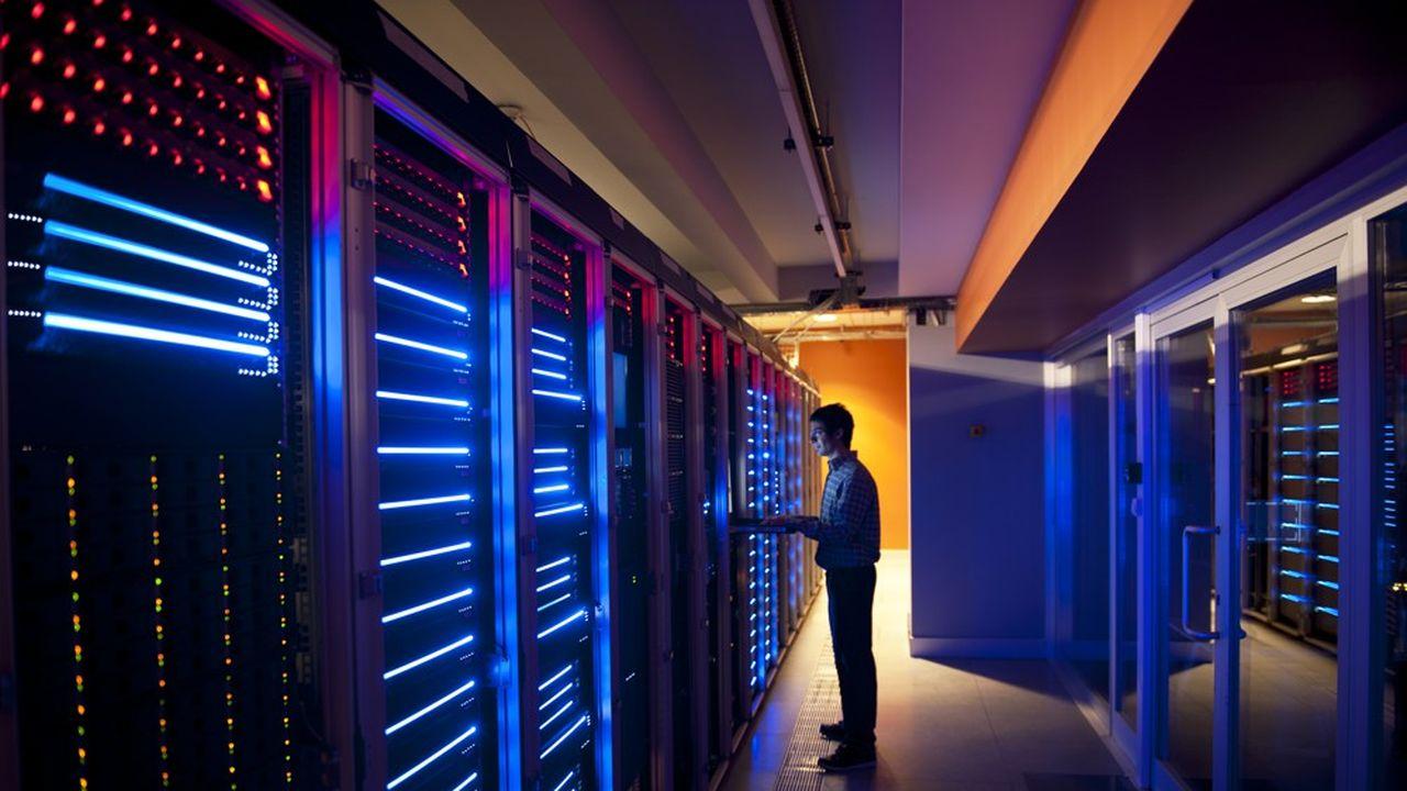 Les banques font cohabiter des serveurs ultramodernes avec leurs systèmes informatiques historiques.