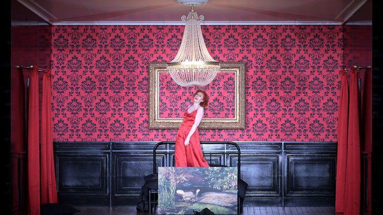 Patricia Petibon dans «La Voix humaine - Point d'orgue», dialogue entre Francis Poulenc et Thierry Escaich dans une mise en scène d'Olivier Py (enregistrement à huis clos en mars 2021).