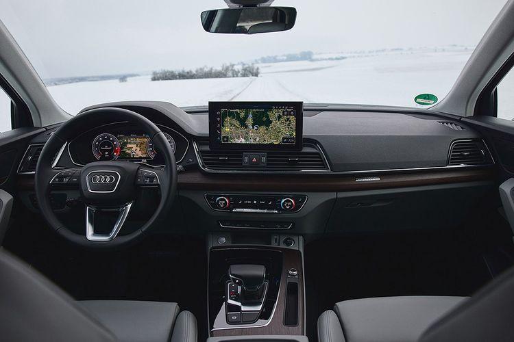 La planche de bord, un peu conservatrice. © Audi AG