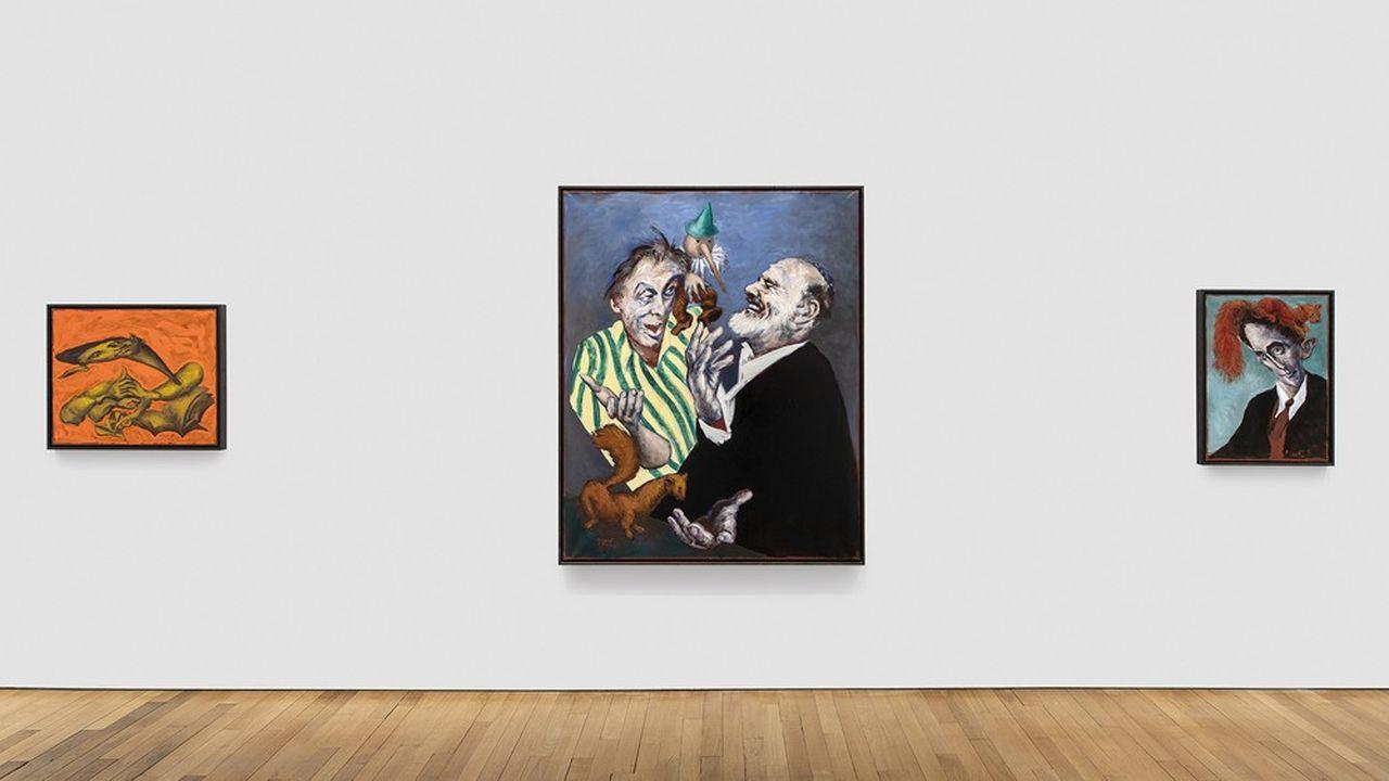 Au centre : «TH'avrouta (la martre et Pinocchio)», de Gérard Garouste.