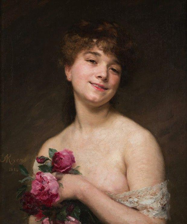 «Portrait de mademoiselle Delagrange», de Jean-André Rixens (1884) figure dans les collections du musée Arts & Figures des Pyrénées centrales, de Saint-Gaudens (Haute-Garonne).