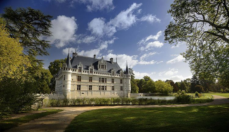 Si le château d'Azay-le-Rideau est fermé, le parc paysager se visite sue rendez-vous.