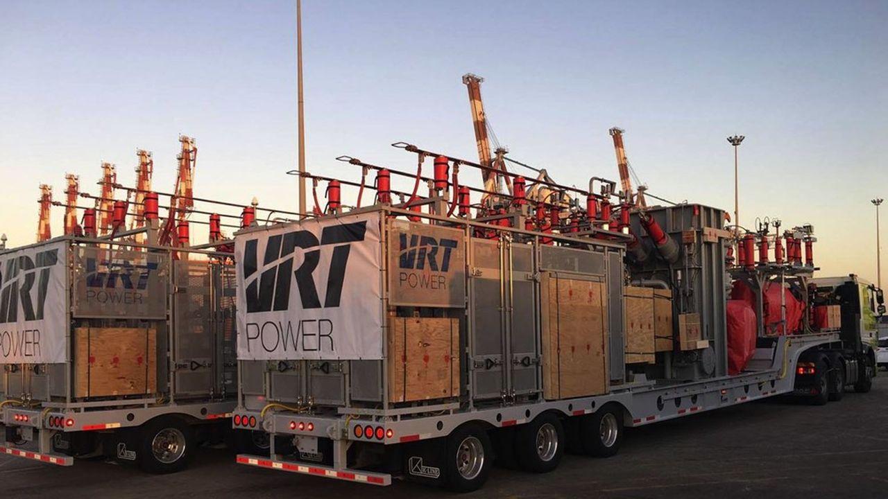L'opération comprend l'ensemble de l'outil de production de VRT Power, ainsi que la propriété intellectuelle (hors Etats-Unis) de l'entreprise.