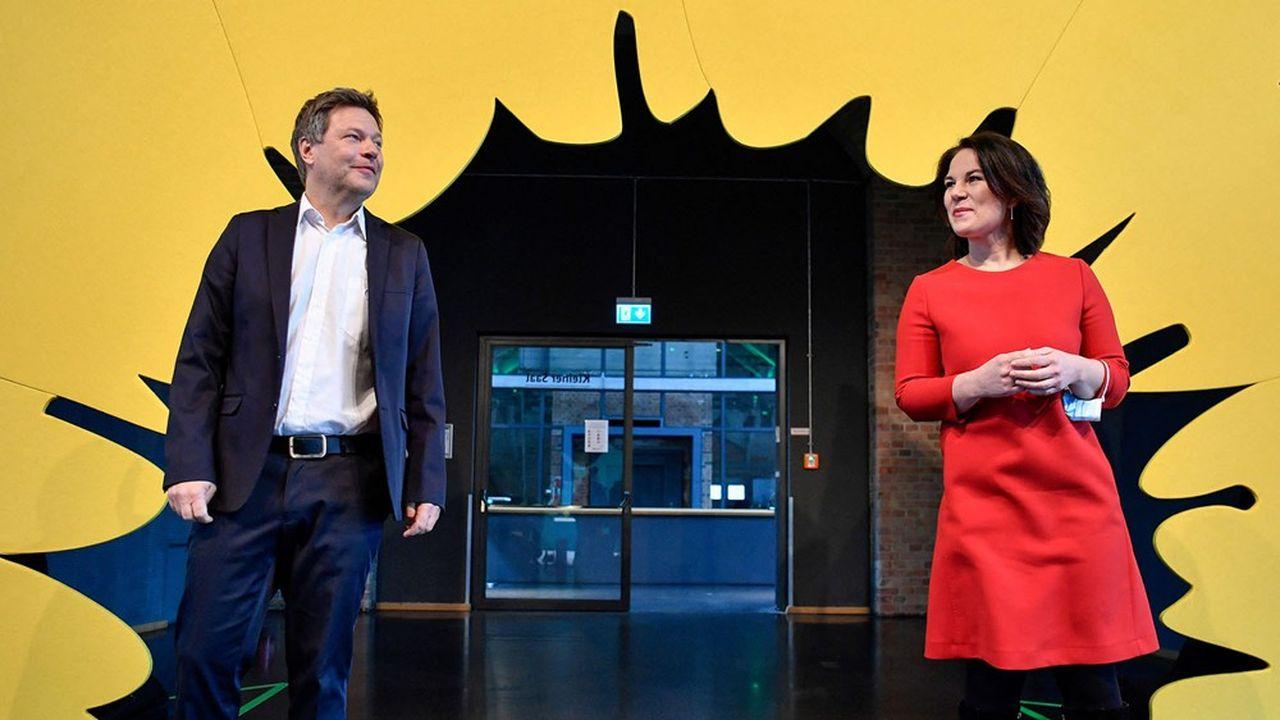 Annalena Baerbock et Robert Habeck annonceront ce lundi lequel des deux sera le candidat des Verts à la chancellerie.