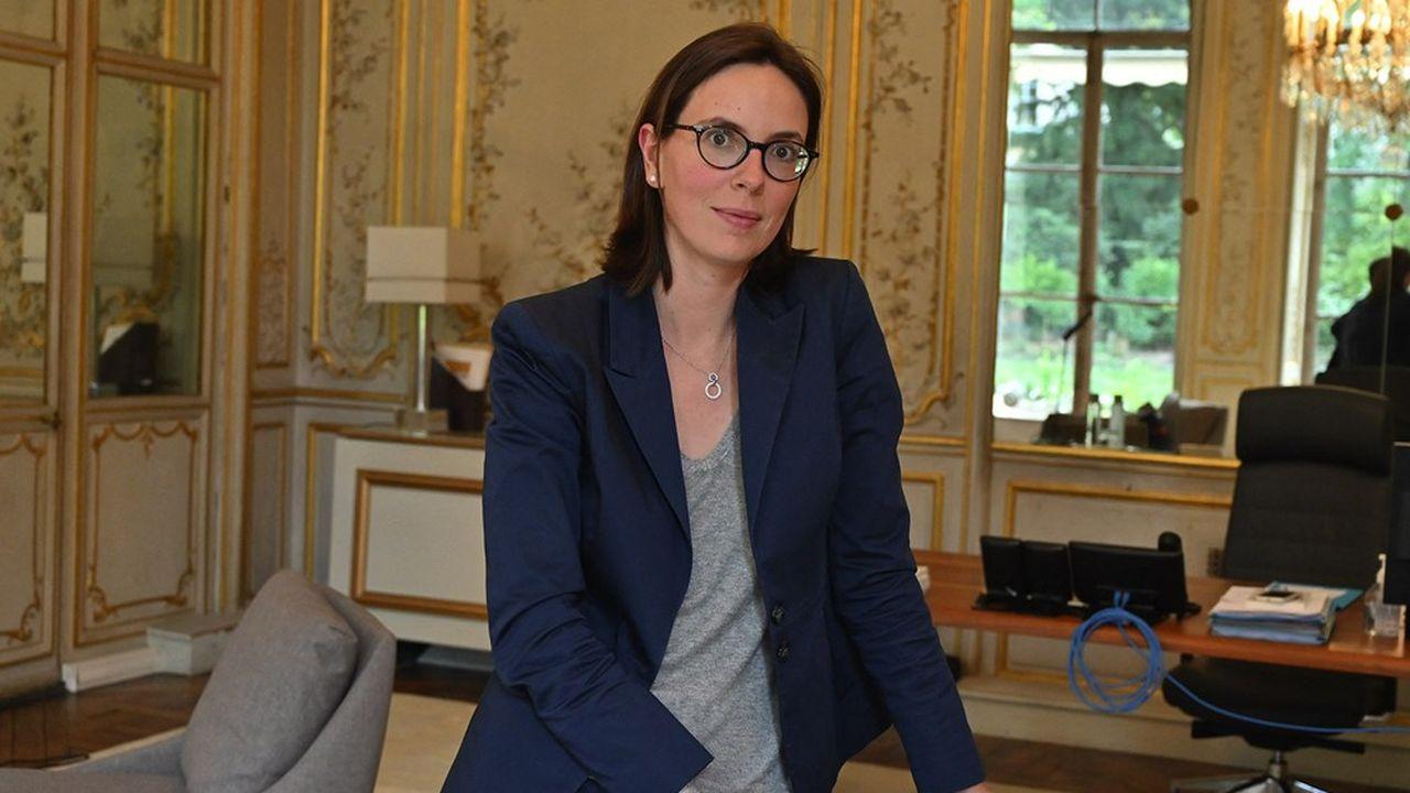 Amelie de Montchalin, ministre de la Transformation de la Fonction publique.