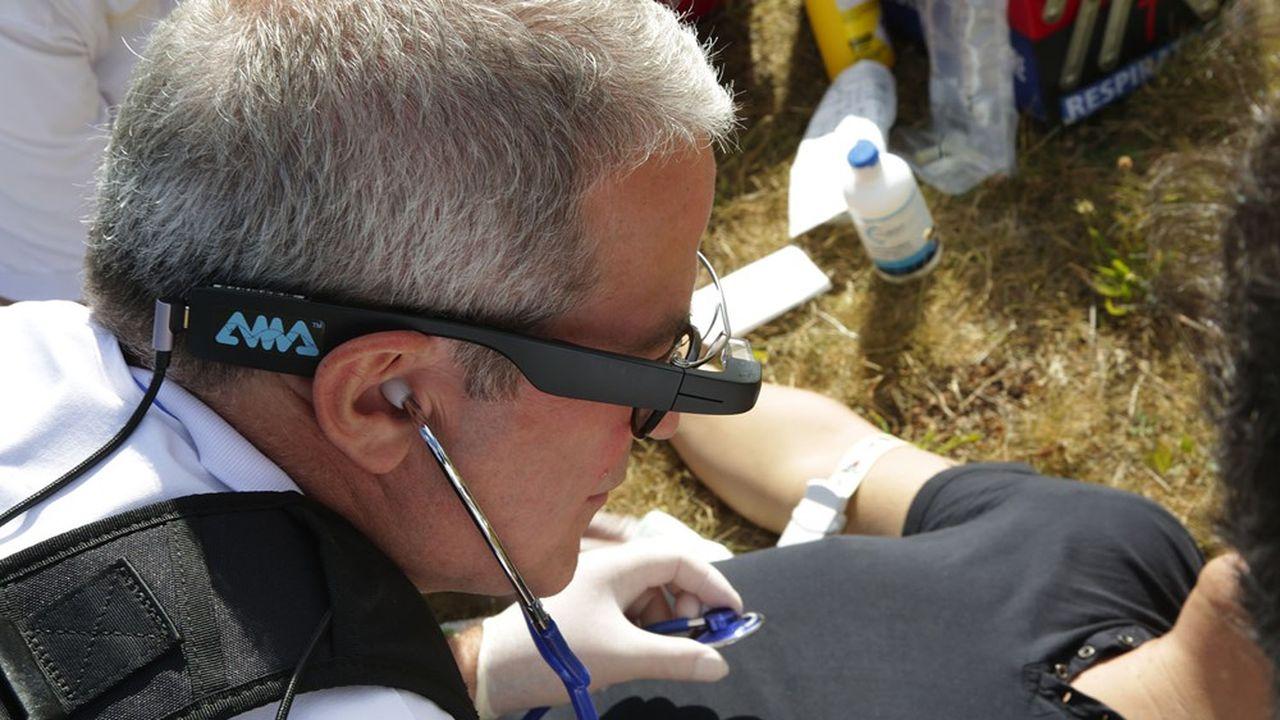 Covid : le travail à distance porte les lunettes connectées d'AMA
