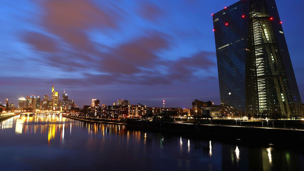 La Banque centrale européenne a mené l'enquête auprès de 65 grandes banques de la zone euro.