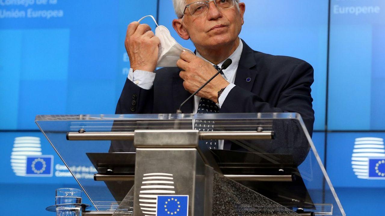 Le chef de la diplomatie européenne, Josep Borrell, a alerté contre un déploiement de troupes«massif» de la part de la Russie.