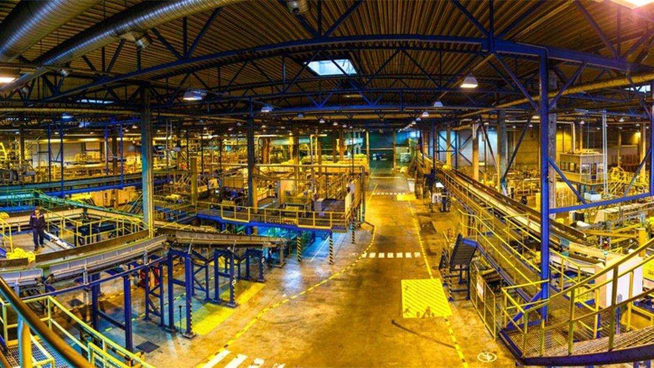 L'usine Isover de Yegorviesvk, en Russie.