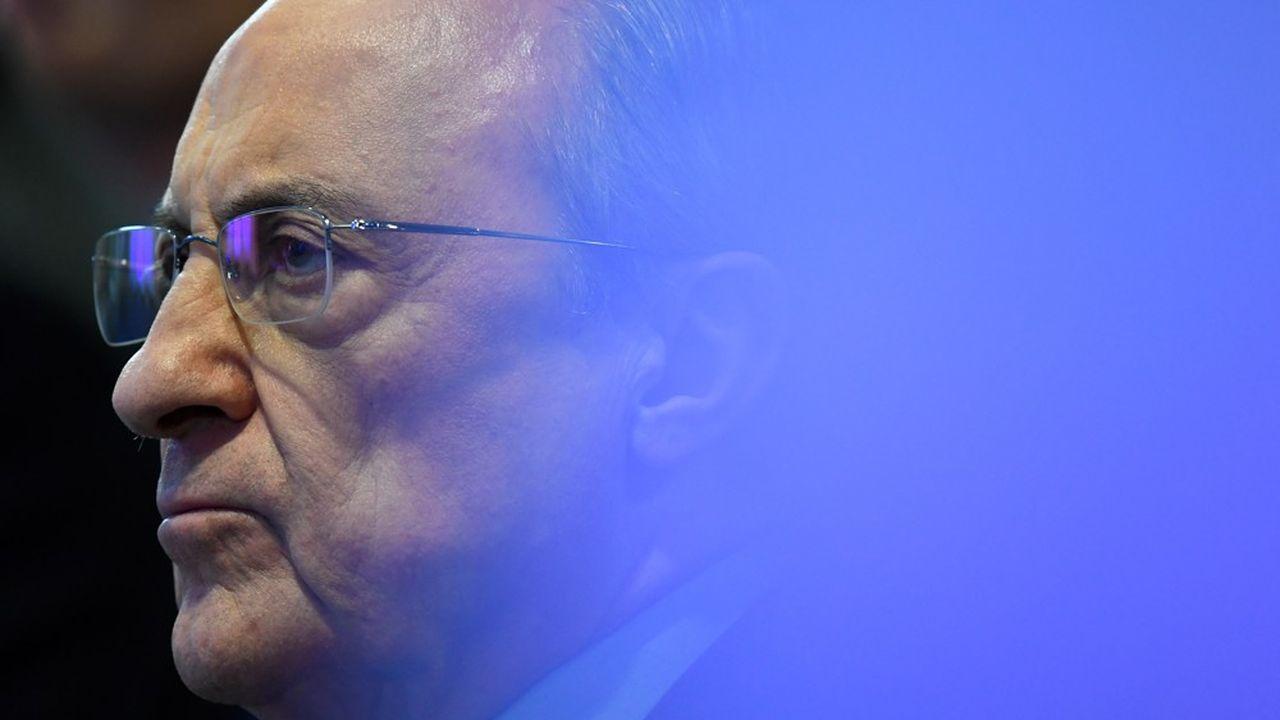 Florentino Pérez, le président du Real Madrid, a encore subi mardi les foudres d'une kyrielle d'acteurs plus ou moins proches du ballon rond.