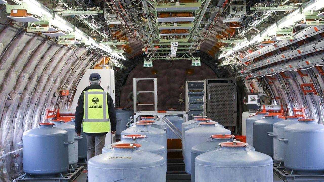 L'activité partielle de longue durée a été conçue pour des entreprises saines, comme ici Airbus, pour les aider à passer un trou d'air de plusieurs mois, voire davantage.