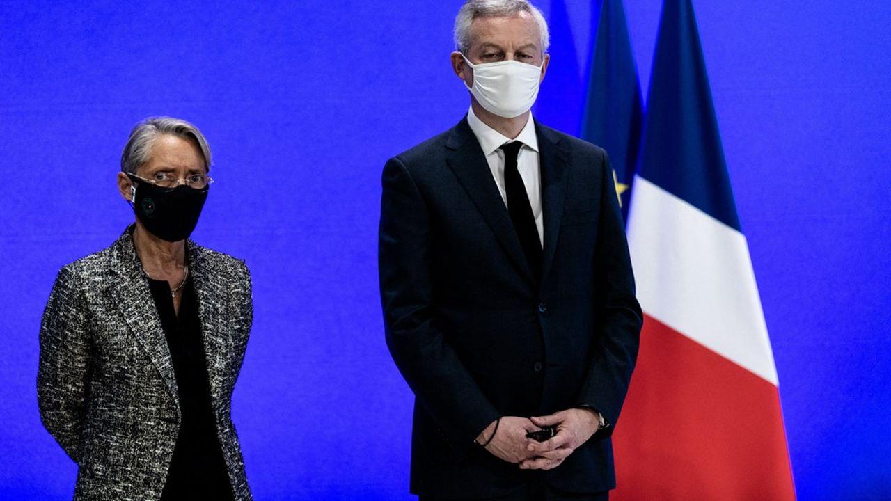 Elisabeth Borne et Bruno Le Maire.
