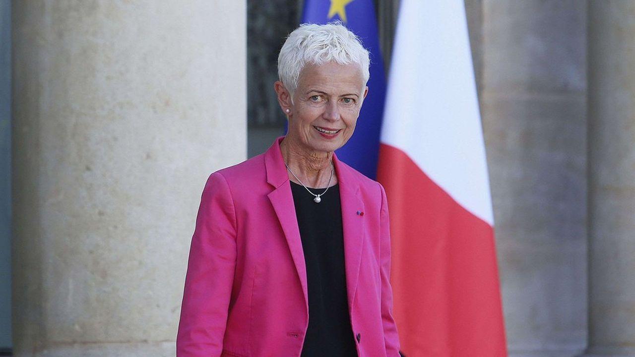 Brigitte Klinkert, ministre déléguée chargée de l'Insertion.