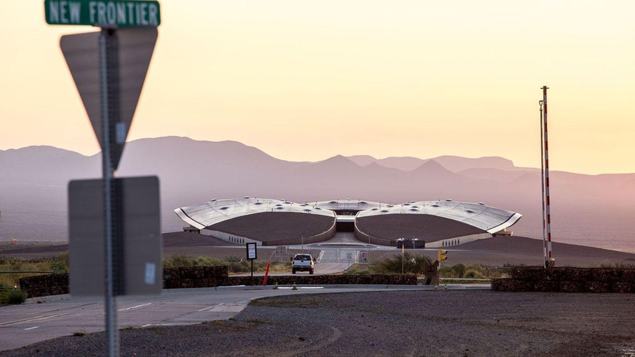 Spaceport America, à Truth or Consequences, au Nouveau-Mexique.