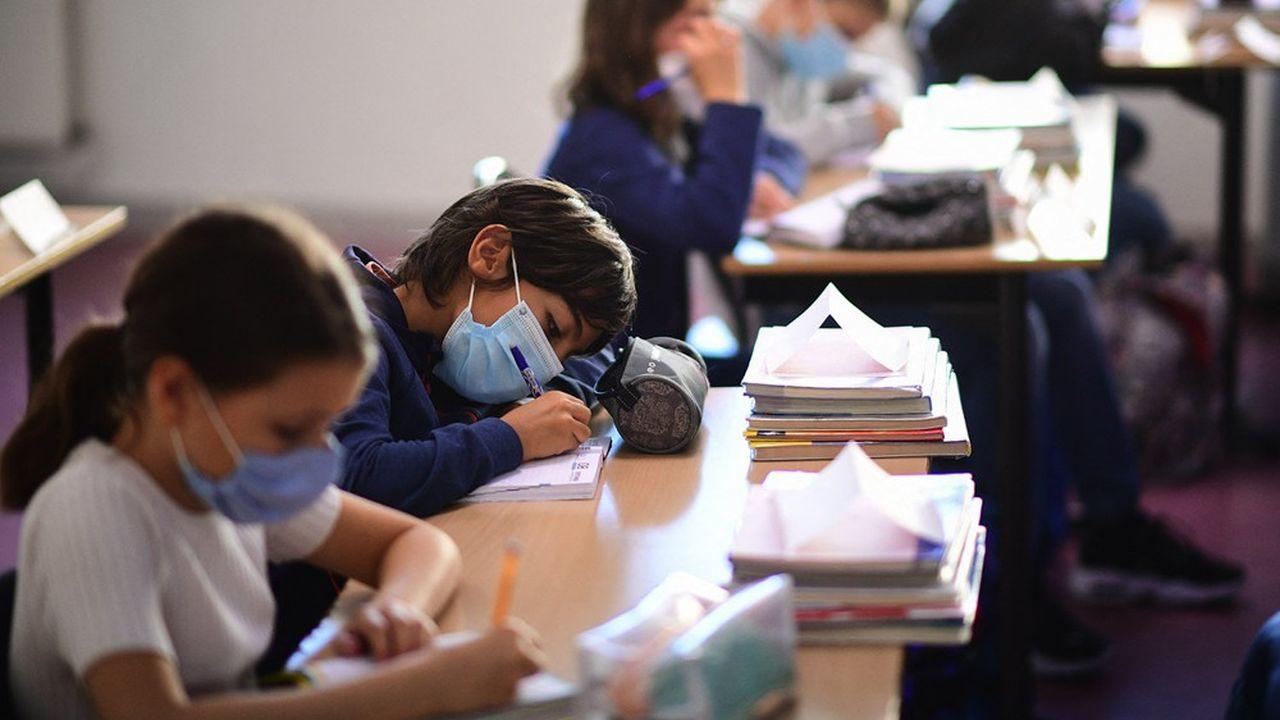 La reprise des cours en présentiel aura lieu lundi pour les élèves de maternelle et d'élémentaire.