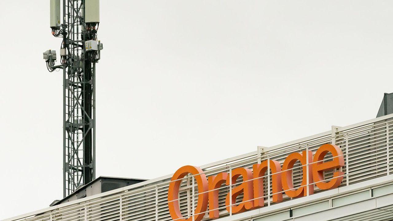 Orange dispose d'un parc de 40.000pylônes de téléphonie mobile dans le monde.