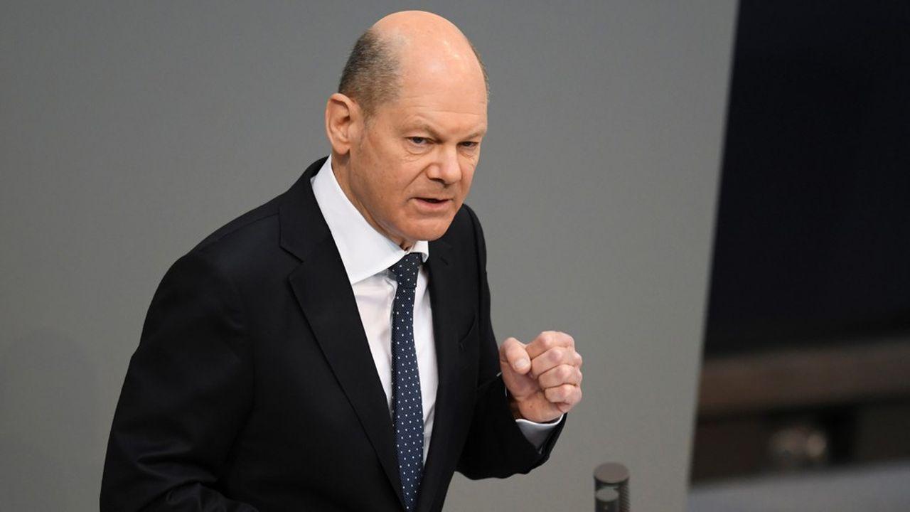 Selon le ministre des Finances Olaf Scholz, «le gouvernement ne porte pas la responsabilité» de la faillite de Wirecard.