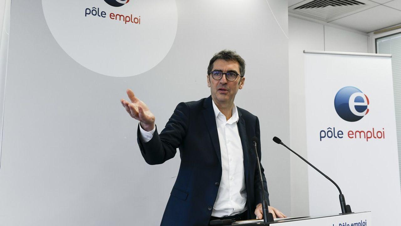 Jean Bassères, directeur général de Pôle emploi.