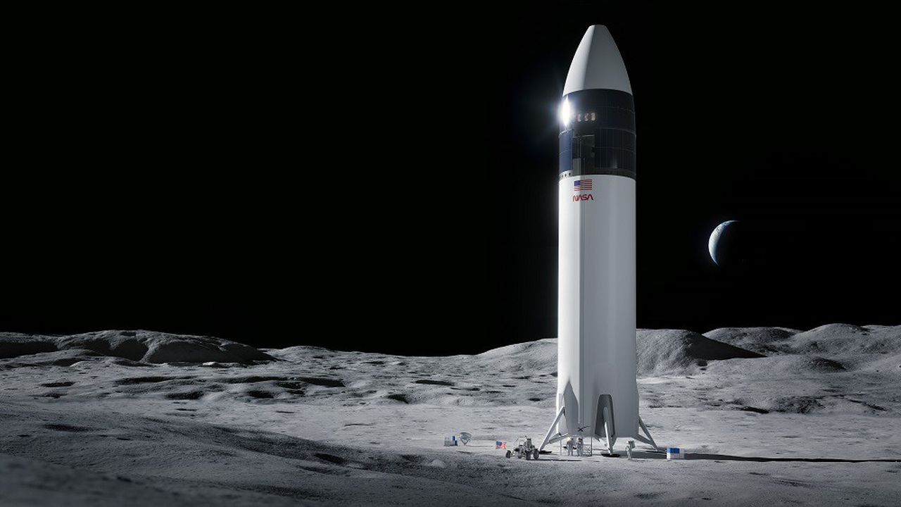 SpaceX a remporté le contrat grâce à son Starship.