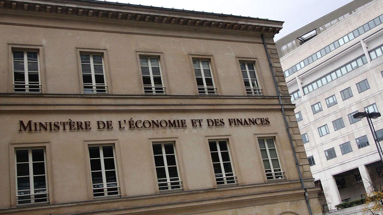 Ministère de l'Economie et des Finances - Bercy.