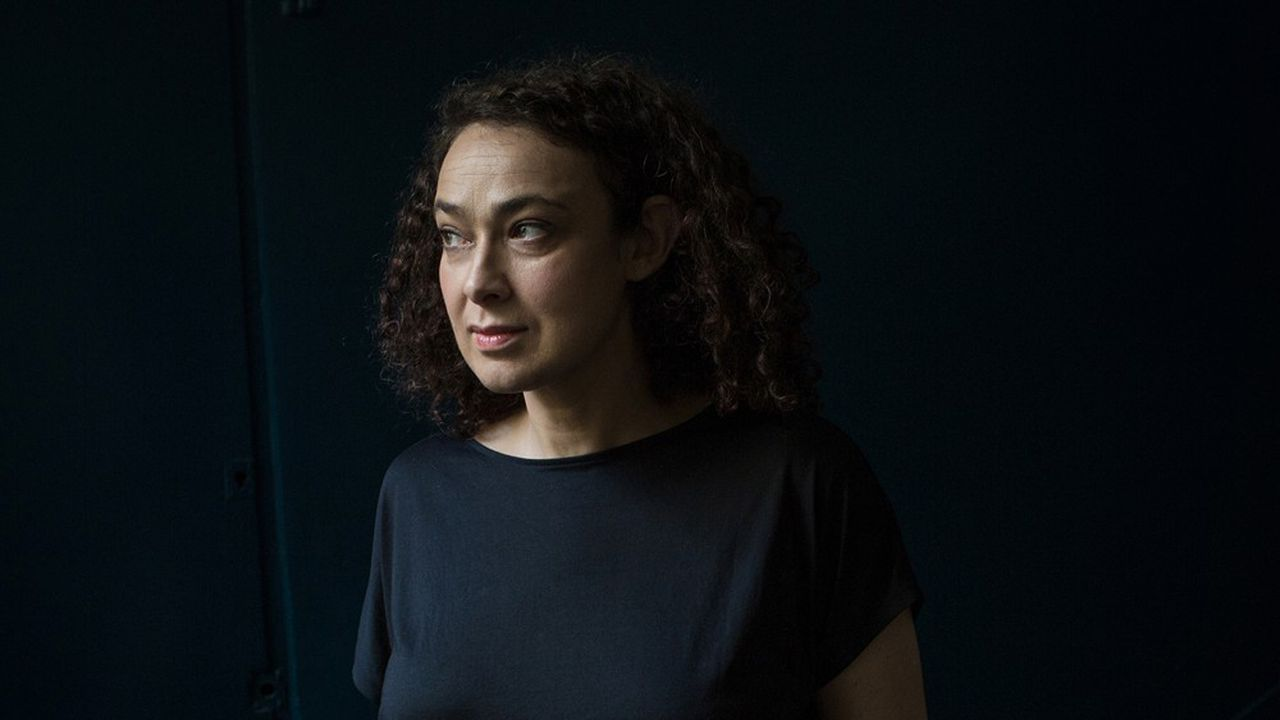 La rabbine Delphine Horvilleur, à Paris le 30 mars 2021.