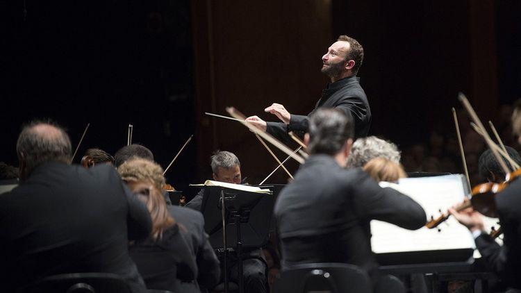 Kirill Petrenko à la tête du Berliner Philharmoniker.