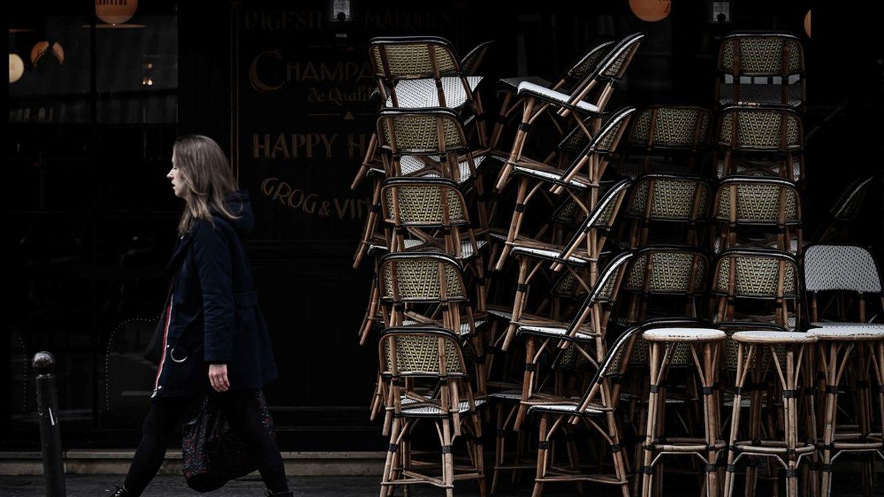 Là où l'incidence ne retombe pas en dessous de 400 cas pour 100.000 habitants, on pourra ne pas rouvrir les terrasses de restaurants.
