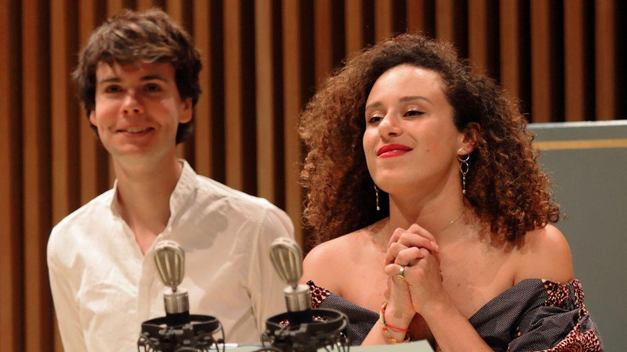 Le claveciniste Justin Taylor et la mezzo soprano Adèle Charvet au dernier Festival de Pâques de Deauville, capté pour la radio et pour Internet