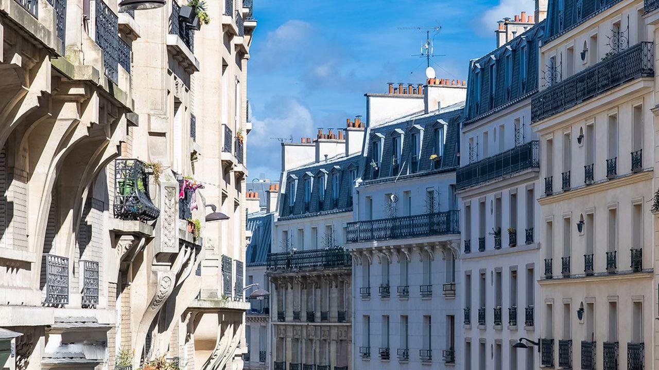 La capitale profite du mouvement haussier avec un petit rebond des prix immobiliers de 0,3% en avril.