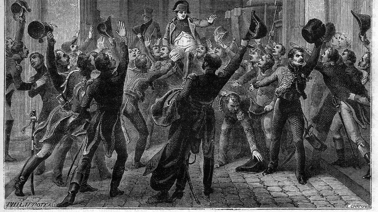Rentrée de Napoléon aux Tuileries, le 20 mars 1815.