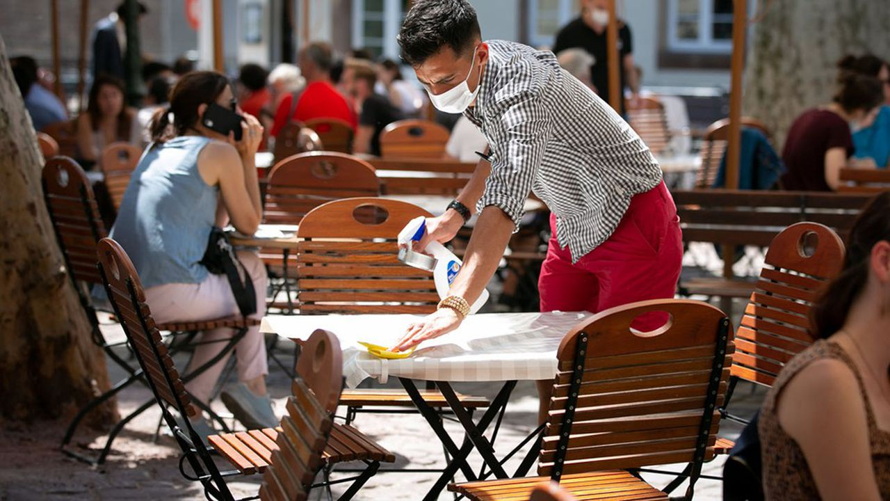La réouverture des terrasses à partir du 19mai va permettre à une partie des restaurants de se remettre en selle.