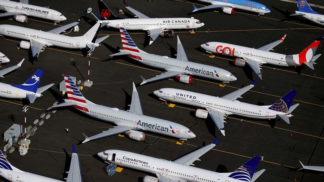 Au 1er trimestre, Boeing a pu livrer 58 Max avant de devoir suspendre les livraisons en avril.