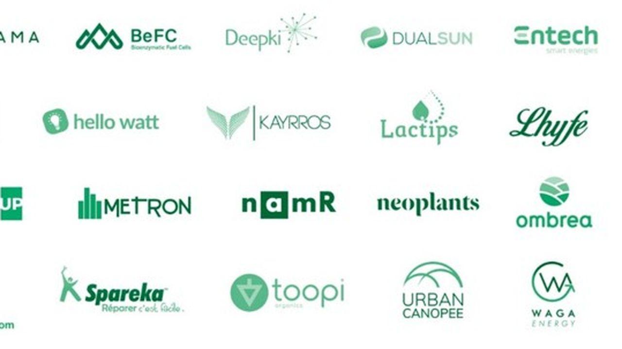 Les vingt start-up du programme «French Tech -Greentech» seront accompagnées par l'écosystème de la French Tech.