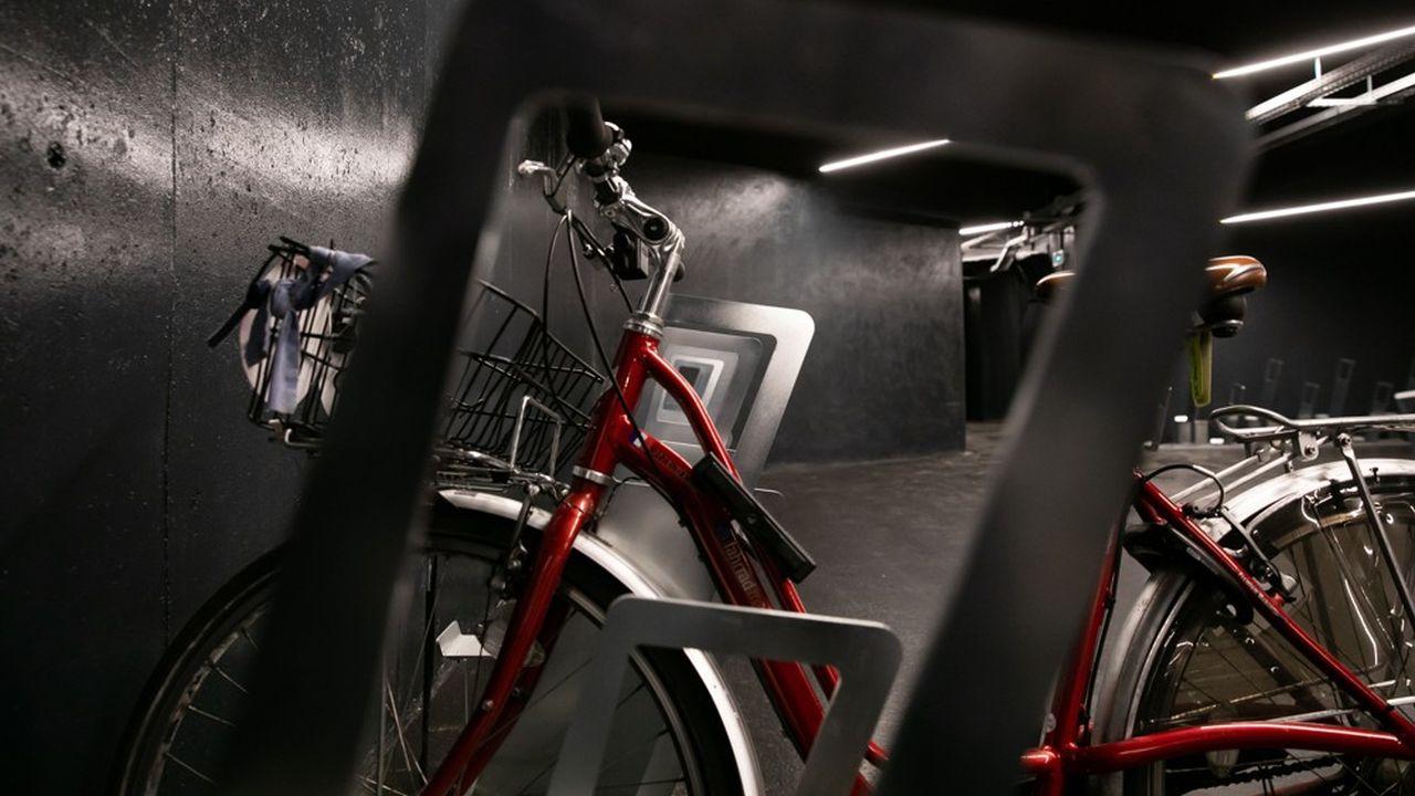 Le business naissant des stationnements pour vélos