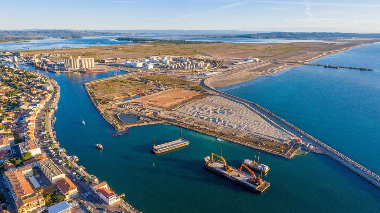 Port-la-Nouvelle.Le site devrait fournir au démarrage 200 à 300 kilos d'hydrogène par jour, «sachant qu'il faut 40 kilos pour faire le plein d'un camion».