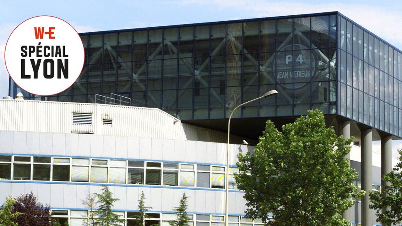 Le laboratoire de microbiologie P4, à Lyon.