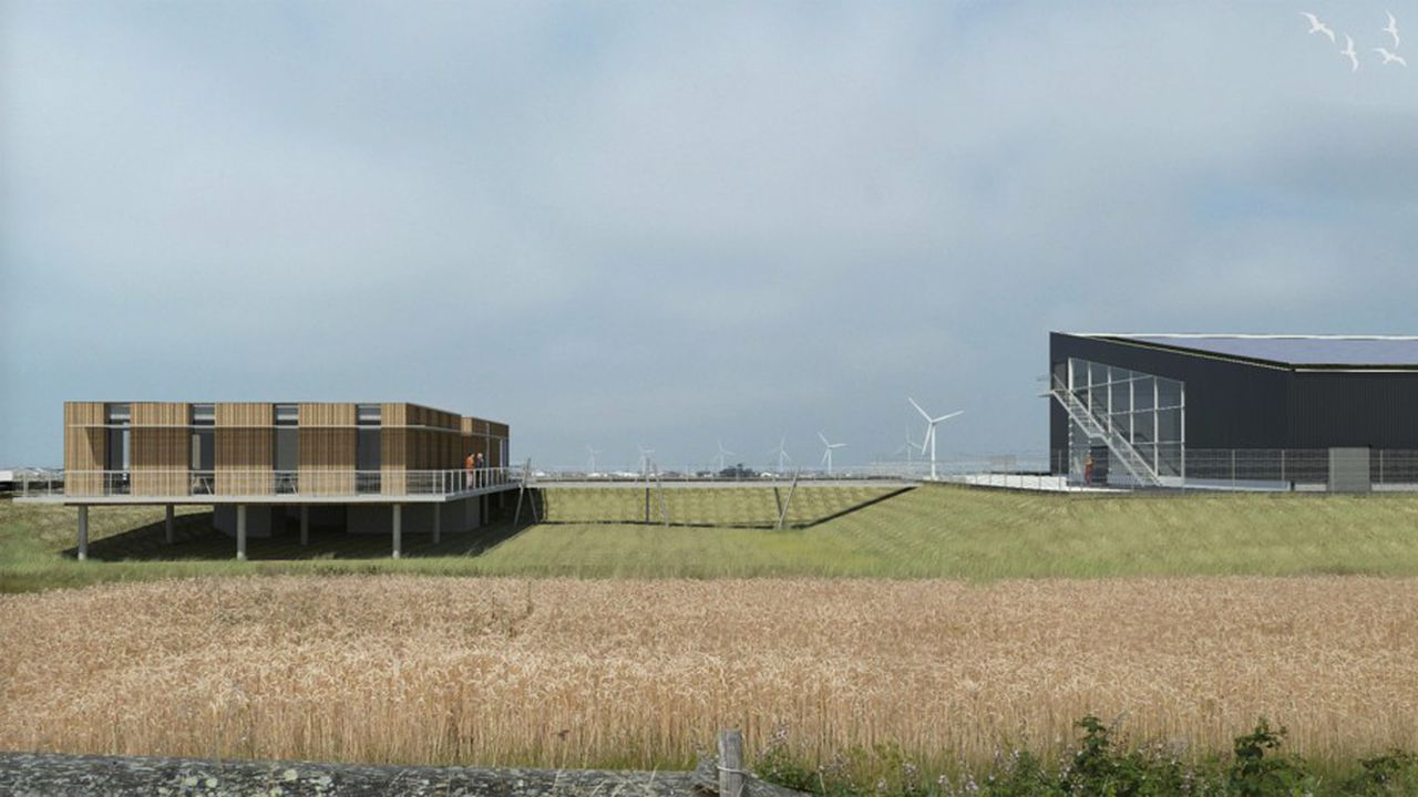 Lhyfe achève l'installation d'un pilote branché sur des éoliennes en Vendée pour une production d'hydrogène verte.