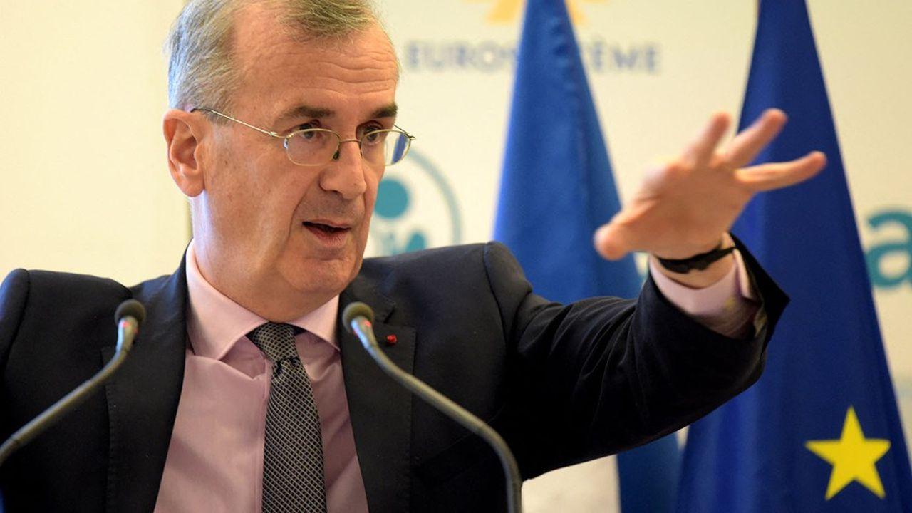 Selon François Villeroy de Galhau, la situation de trésorerie des entreprises reste globalement bonne.