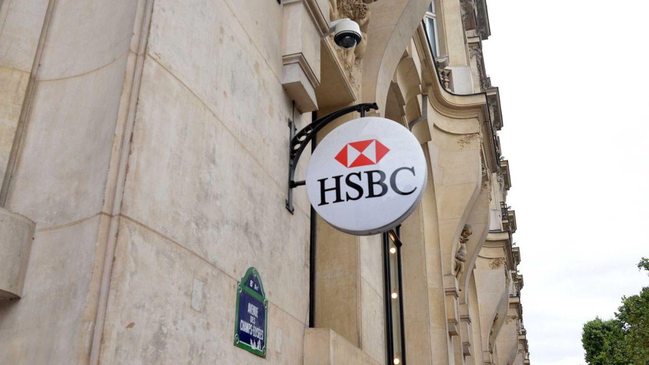HSBC a enregistré 1,16milliard de dollars de pertes avant impôts en France en 2020.