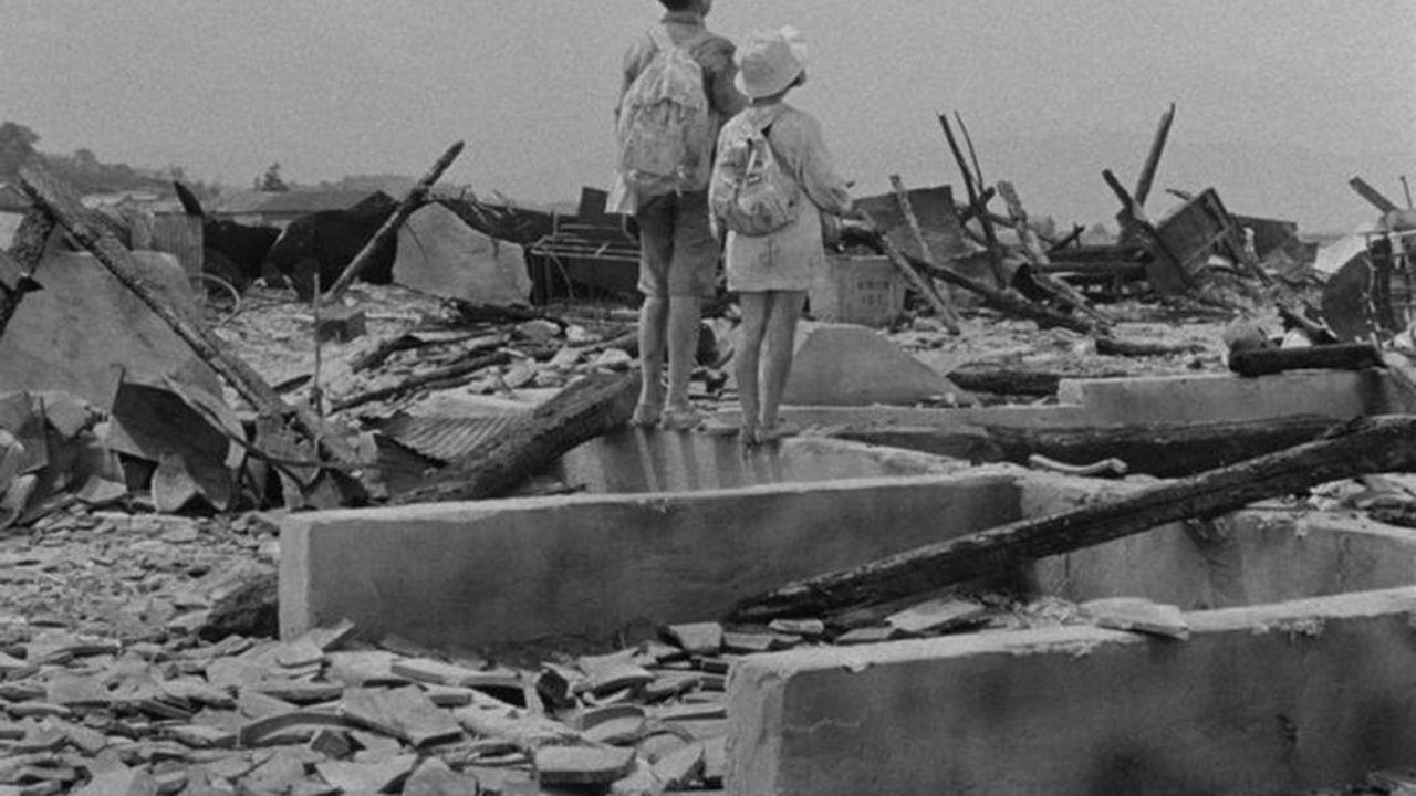 Image glaçante de l'apocalypse extraite du filmde Hideo Sekigawa.