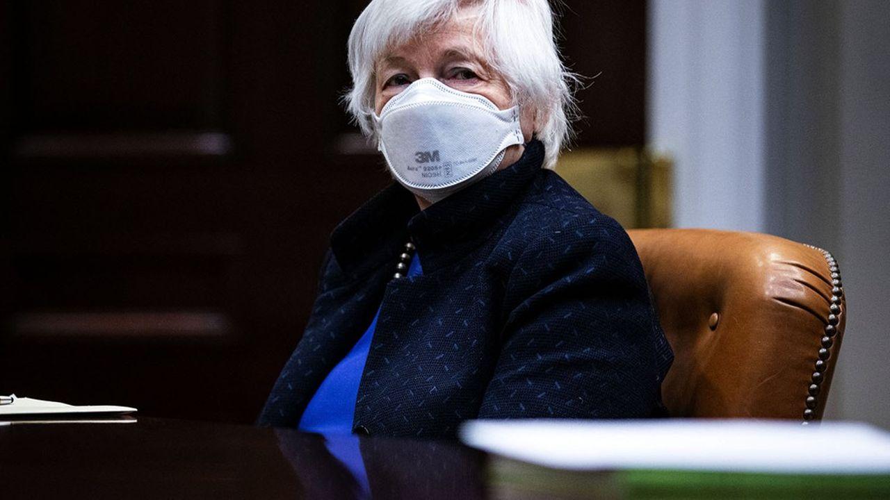 La secrétaire au Trésor Janet Yellen