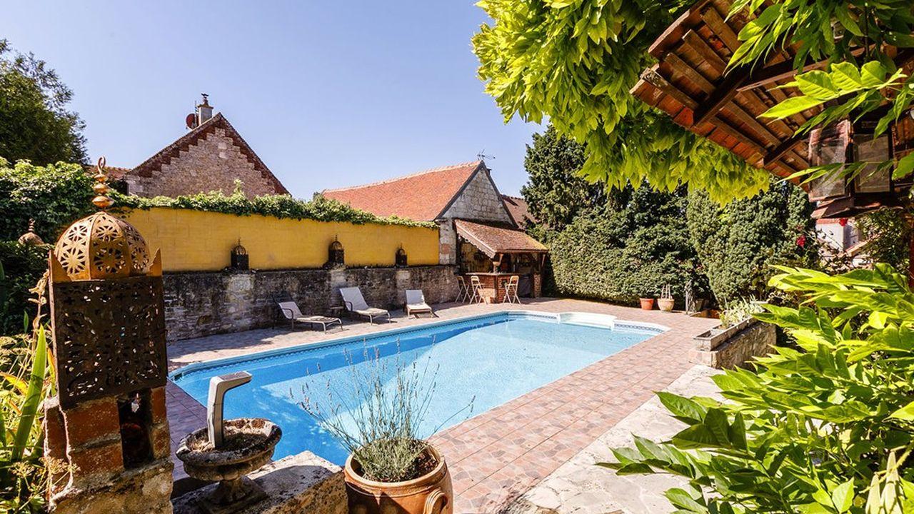 Une longère avec piscine dans l'Oise