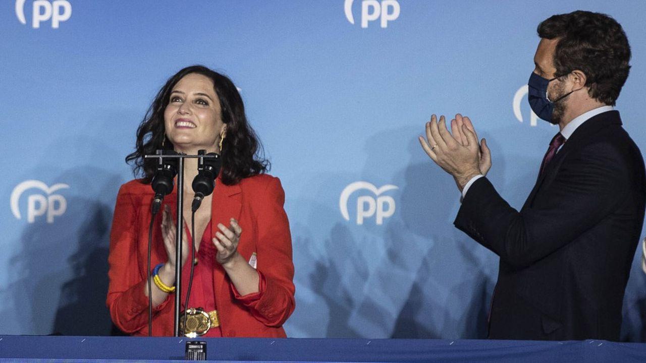 La large victoire d'Isabel Díaz Ayuso aux élections régionales remet en selle le Parti populaire