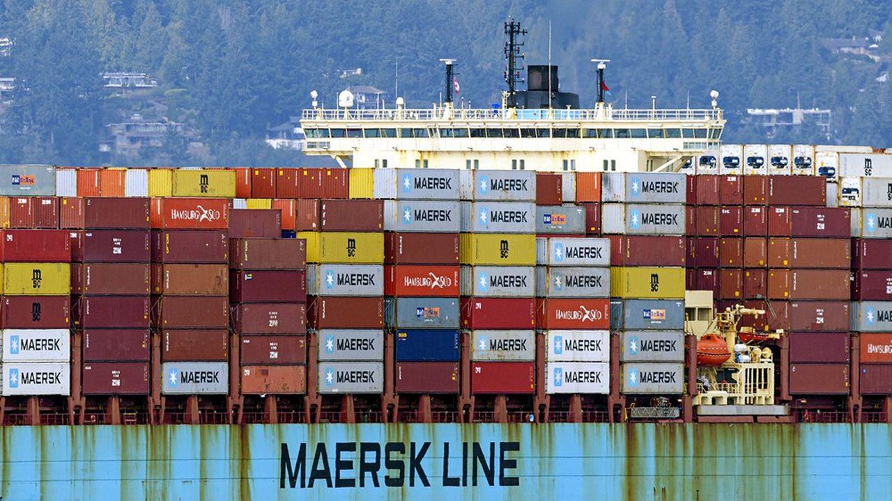 Transport maritime : Maersk bénéficie à plein de la crise sanitaire