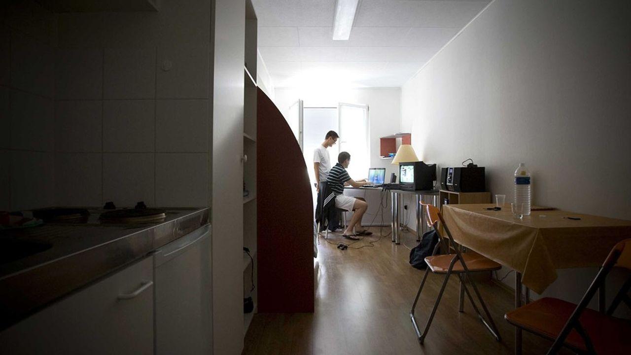 Ouverture d'une résidence étudiante de 100 logements modulaires en bois a Compiègne. Des constructions de logements modulaires en containers inspirées du modèle néerlandais.