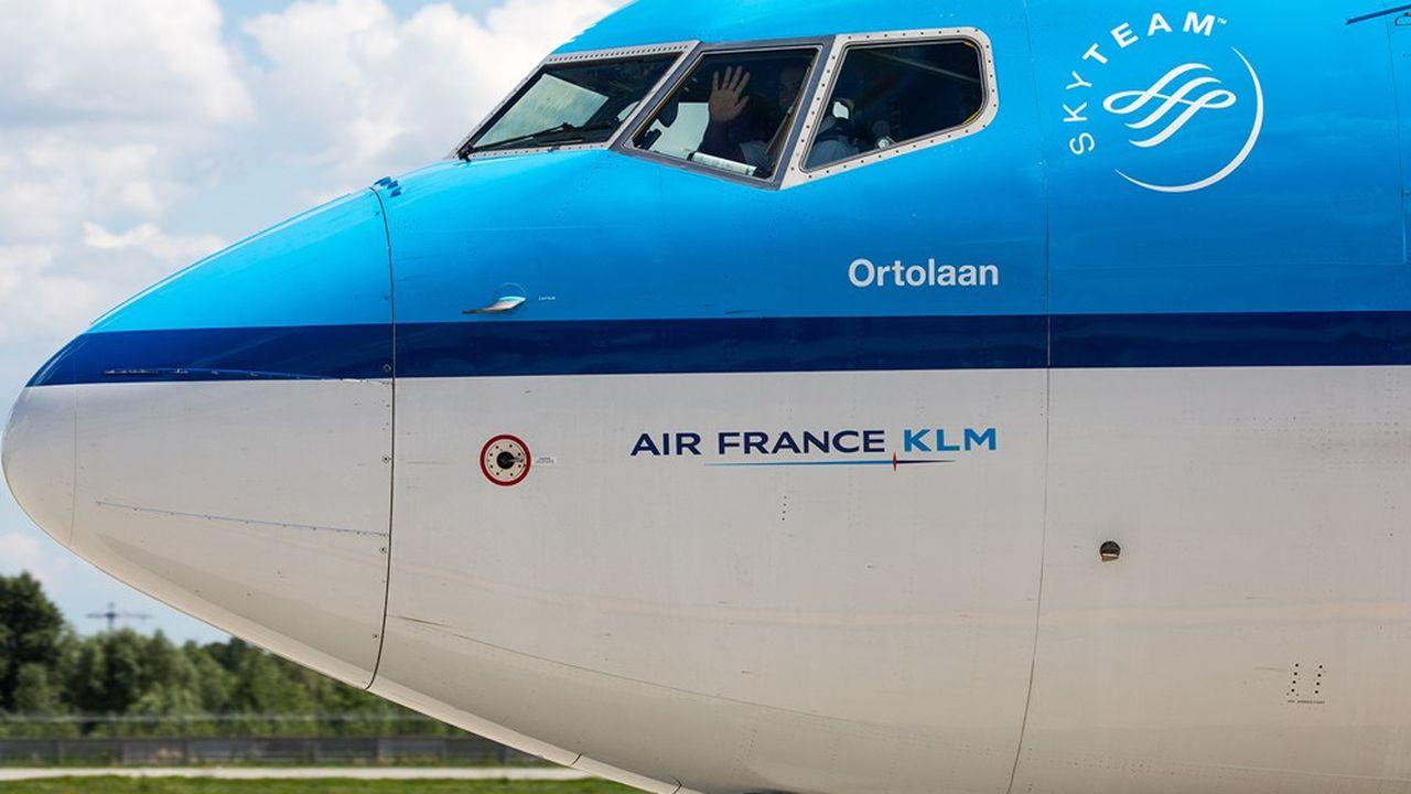 Air France et KLM continuent à subir l'impact des restrictions sanitaires.