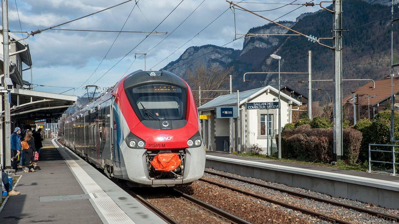 L'arrivée du Léman Express en gare de Sallanches va considérablement augmenter le trafic.