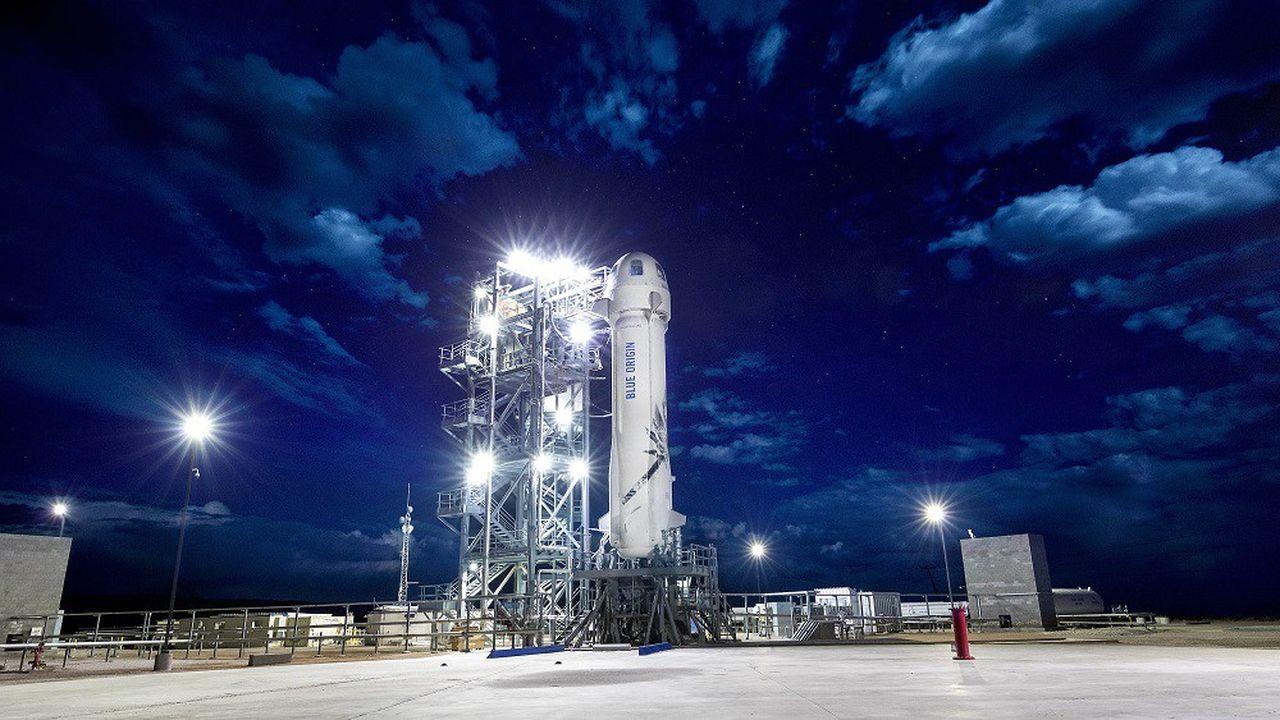 Blue Origin exploite le système New Shepard, composé d'un lanceur à étage unique et d'une capsule.