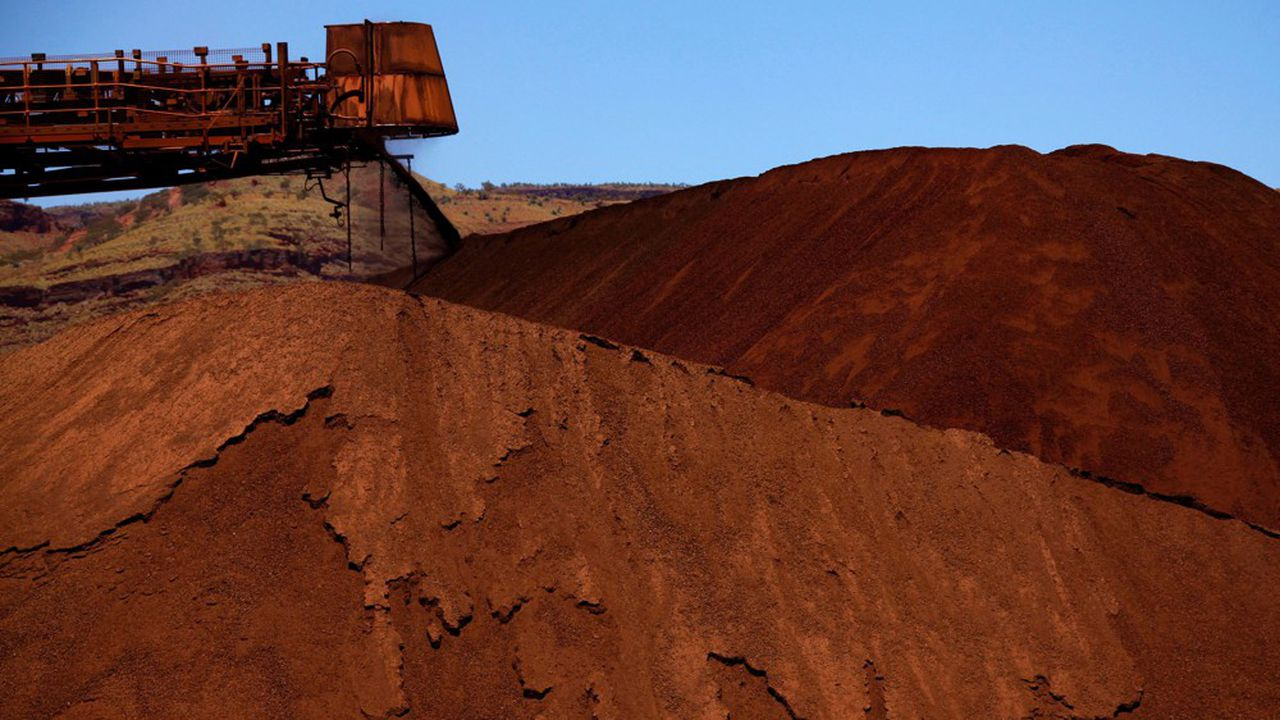 Une mine de fer en Australie.