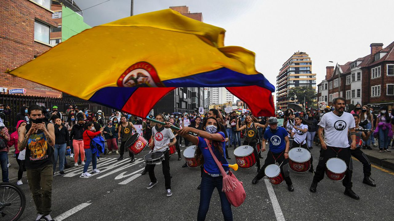 A cause de la pandémie de Covid, le PIB colombien a reculé de 6,8% l'an dernier: la pire performance depuis un demi-siècle.